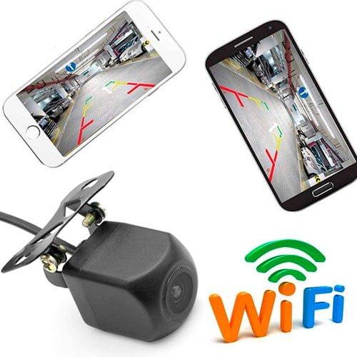 camara trasera coche wifi movil