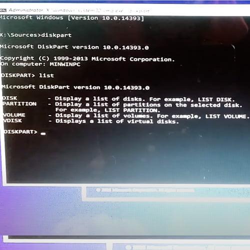 error instalacion windows 10 0x8007025D